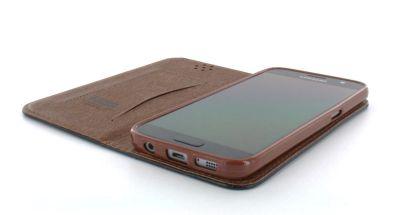 OneCover Handytasche für Samsung Galaxy S7 Lederoptik Flip Case schwarz bei Trade4me RC-Modellbau kaufen