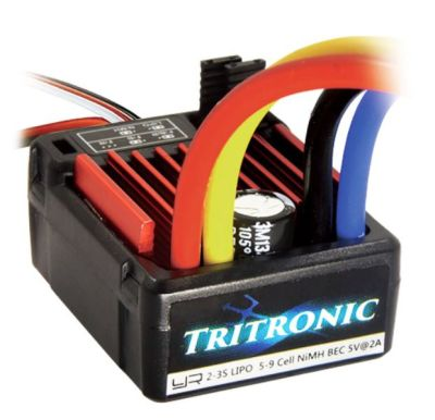 OneHobby ESC-1060WP TRITRONIC 1/10 Waterproof Brushed 60A ESC bei Trade4me RC-Modellbau kaufen
