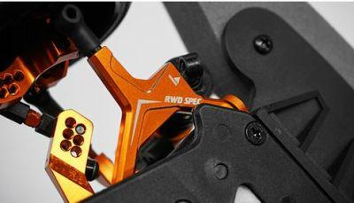 OneHobby SPT2-S04OR RWD Drift Conversion Kit für HPI Sprint 2 in Orange bei Trade4me RC-Modellbau kaufen