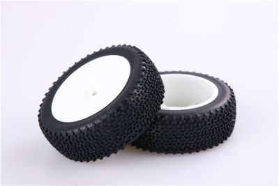 LC-Racing L6002 Front tire set mounted bei Trade4me RC-Modellbau kaufen