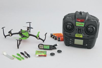 Hobbico Verso Quadcopter UAV RTF Grün (DIDE10GG) bei Trade4me RC-Modellbau kaufen