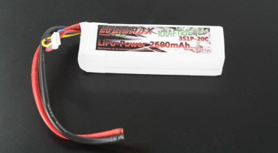 Evermax Force bar 2600mAh 3S1P 11,1V 20C / 40C bei Trade4me RC-Modellbau kaufen