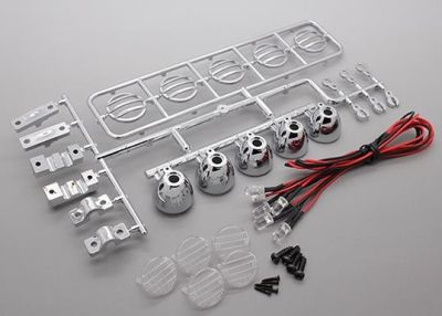 OneHobby LED Dachlampenbügel Chrom bei Trade4me RC-Modellbau kaufen