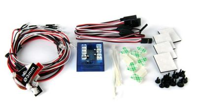 OneHobby FUSELED-3 LED Lighting Kit for Cars and Trucks 1/10th Scale and Smaller bei Trade4me RC-Modellbau kaufen