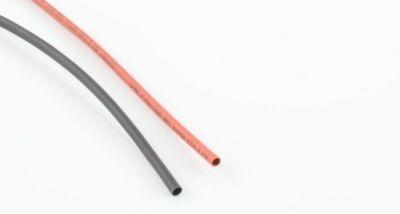 OneHobby 2.0 mm Schrumpfschlauch ( 25cm schwarz + 25cm rot) bei Trade4me RC-Modellbau kaufen