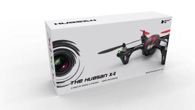 Hubsan H107C X4 Mini Quadcopter Rot mit HD Kamera und LED bei Trade4me RC-Modellbau kaufen