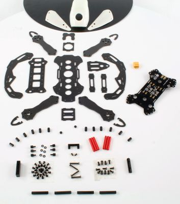 OneHobby FlyCat 260 V2 FPV Racer Quadcopter Kit white MF01786+ bei Trade4me RC-Modellbau kaufen