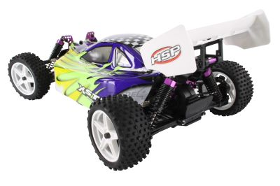 HSP Buggy XSTR 1:10 4WD RTR Blau  94107 bei Trade4me RC-Modellbau kaufen