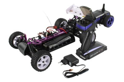 HSP Buggy XSTR 1:10 4WD RTR Blue 94107 bei Trade4me RC-Modellbau kaufen