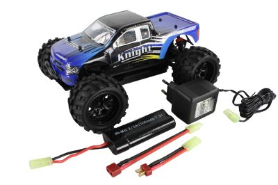 HSP Monster-Truck Knight Blau 1:18 4WD  94806/80691 bei Trade4me RC-Modellbau kaufen
