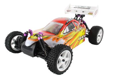 HSP Buggy XSTR Rot 1:10 4WD RTR 94107/10704 bei Trade4me RC-Modellbau kaufen
