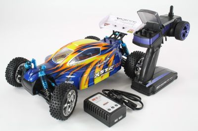 HSP Buggy XSTR TOP BL 1:10 4WD RTR (Blau) 94107TOP bei Trade4me RC-Modellbau kaufen