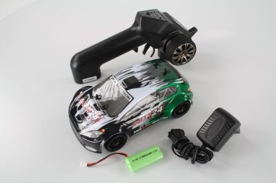 HSP Rally Car black/green 1:24 4WD  94248 bei Trade4me RC-Modellbau kaufen
