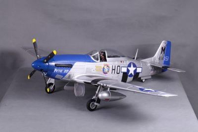 FMS P-51D Mustang Petie V8 (2nd /PNP/ 1400 mm) FMS008P-P2 bei Trade4me RC-Modellbau kaufen