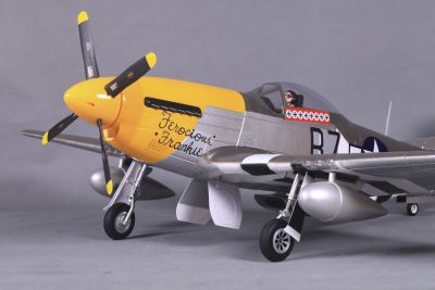 FMS P-51D Mustang (V8) Ferocious Frankie PNP 1400mm FMS008 bei Trade4me RC-Modellbau kaufen