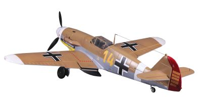 FMS BF-109 Messerschmitt braun PNP 1400mm FMS046 bei Trade4me RC-Modellbau kaufen