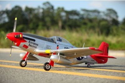 FMS P-51D Mustang Red Tail PNP 1450mm FMS008P-RT bei Trade4me RC-Modellbau kaufen