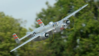 FMS B-25 MItchell North America Silber PNP 1470mm FMS025P-SIL bei Trade4me RC-Modellbau kaufen