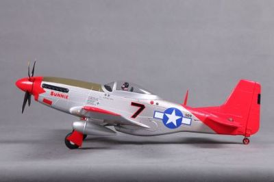 FMS P-51D Mustang Red Tail PNP 800mm FMS016P-RT bei Trade4me RC-Modellbau kaufen