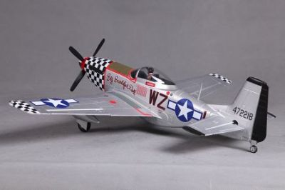 FMS P-51D Mustang Big Beautiful Doll PNP 800mm FMS016P-BBD bei Trade4me RC-Modellbau kaufen