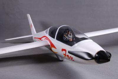 FMS FOX V2 Segelflugzeug weiß PNP 2320mm FMS023P bei Trade4me RC-Modellbau kaufen