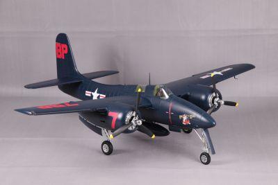 FMS F7F Tigercat PNP in Blau 1700mm FMS098PB bei Trade4me RC-Modellbau kaufen