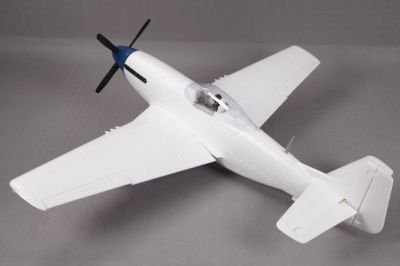 FMS 1450MM P-51D V8 unpainted in withe FMS008P-P2WHT bei Trade4me RC-Modellbau kaufen