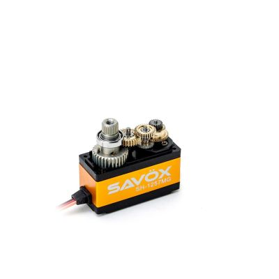 Savox Metallgetriebe Servo Heck 500er Heli SH-1257MG bei Trade4me RC-Modellbau kaufen