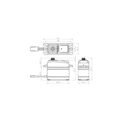 Savox Metallgetriebe Servo Heck 600/700er Heli SH-1290MG bei Trade4me RC-Modellbau kaufen