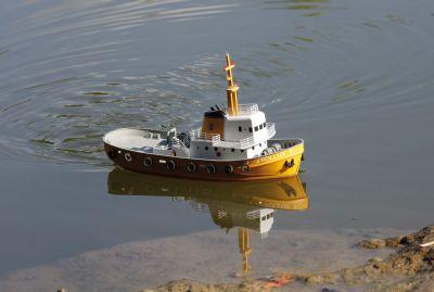 Graupner Hafenschlepper Pollux 2 21011 bei Trade4me RC-Modellbau kaufen