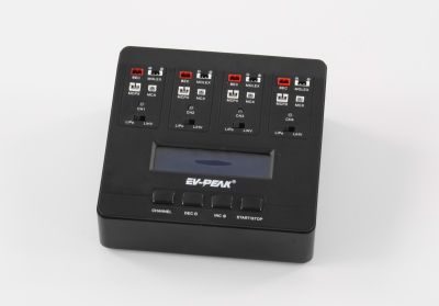 EV-Peak 1S Lipo charger E6 for 4 single cells LiHV capable bei Trade4me RC-Modellbau kaufen