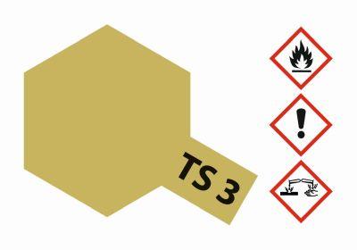 TAMIYA TS-3 Dunkelgelb matt 100ml 300085003 bei Trade4me RC-Modellbau kaufen