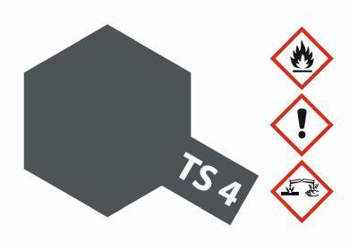 TAMIYA TS-4 German-Grau matt 100ml 300085004 bei Trade4me RC-Modellbau kaufen