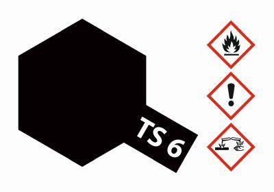 TAMIYA TS-6 Black matt 100ml 300085006 bei Trade4me RC-Modellbau kaufen