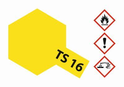 TAMIYA TS-16 Gelb glänzend 100ml 300085016 bei Trade4me RC-Modellbau kaufen