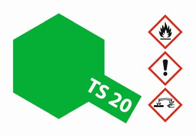 TAMIYA TS-20 Metallic Grün glänzend 100ml 300085020 bei Trade4me RC-Modellbau kaufen