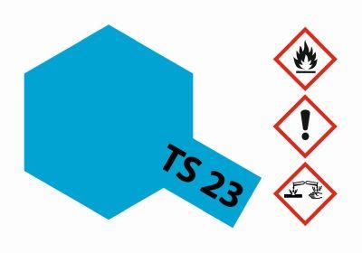 TAMIYA TS-23 Hellblau glänzend 100ml 300085023 bei Trade4me RC-Modellbau kaufen