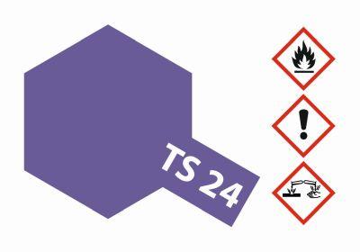 TAMIYA TS-24 Violett glänzend 100ml 300085024 bei Trade4me RC-Modellbau kaufen