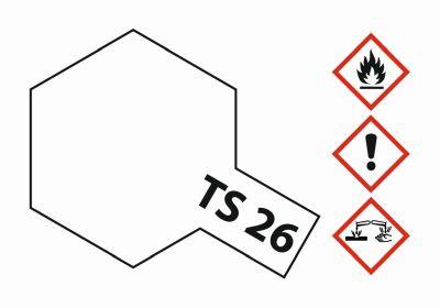 TAMIYA TS-26 Weiss glänzend 100ml 300085026 bei Trade4me RC-Modellbau kaufen