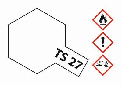 TAMIYA TS-27 Weiss matt 100ml 300085027 bei Trade4me RC-Modellbau kaufen