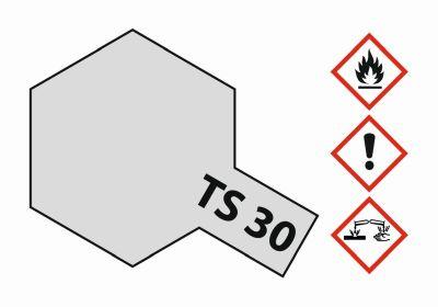 TAMIYA TS-30 Metallic silver glossy 100ml 300085030 bei Trade4me RC-Modellbau kaufen