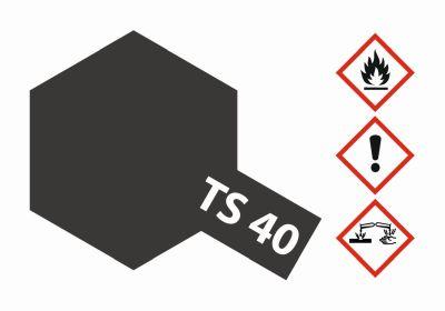 TAMIYA TS-40 Metallic Schwarz glänzend 100ml 300085040 bei Trade4me RC-Modellbau kaufen