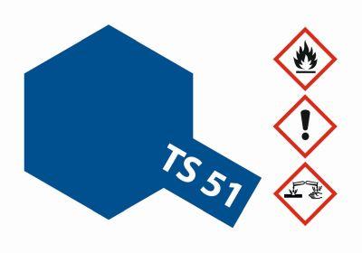 TAMIYA TS-51 Racing Blau (Tf) glänzend 100ml 300085051 bei Trade4me RC-Modellbau kaufen
