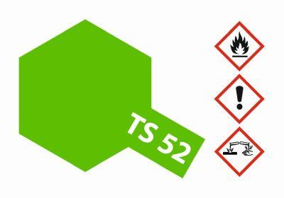 TAMIYA TS-52 Bonbon-Limet Grün(Candy) gl. 100ml 300085052 bei Trade4me RC-Modellbau kaufen