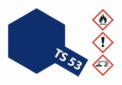 TAMIYA TS-53 Metallic Blau Dunkel glänz. 100ml 300085053 bei Trade4me RC-Modellbau kaufen