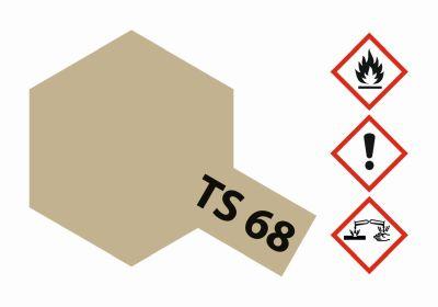 TAMIYA TS-68 Holzdeck Hellbraun matt 100ml 300085068 bei Trade4me RC-Modellbau kaufen
