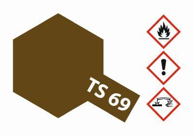 TAMIYA TS-69 Linoleum Deck Braun matt 100ml 300085069 bei Trade4me RC-Modellbau kaufen