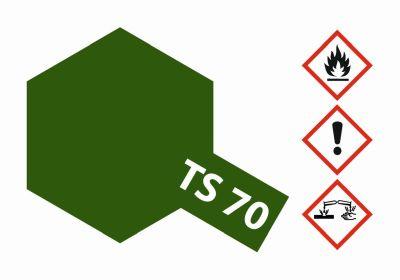 TAMIYA TS-70 Braunoliv (Olive Drab) matt 100ml 300085070 bei Trade4me RC-Modellbau kaufen