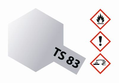 TAMIYA TS-83 Metallic Silber glänzend 100ml 300085083 bei Trade4me RC-Modellbau kaufen