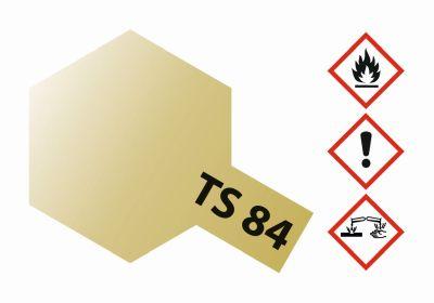 TAMIYA TS-84 Metallic Gold glänzend 100ml 300085084 bei Trade4me RC-Modellbau kaufen